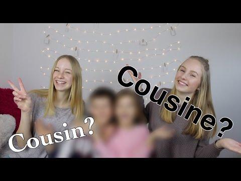 Wer kennt uns besser? Cousin oder Cousine? I Finja and Svea