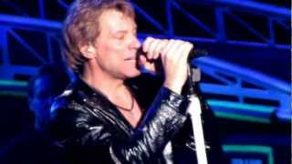 "Bon Jovi singing ""Bed of Roses"" from ""Keep the Faith"" album, live in Tampa,  March 1st , 2013"