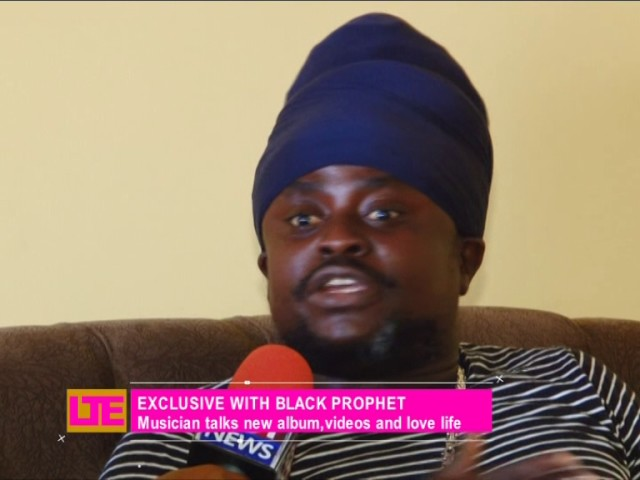 Exclusive with Black Prophet - Let's Talk Entertainment on Joy News (14-10-16)