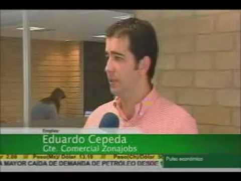 Entrevista TV de ZonaJobs Canal Cable Noticias May...