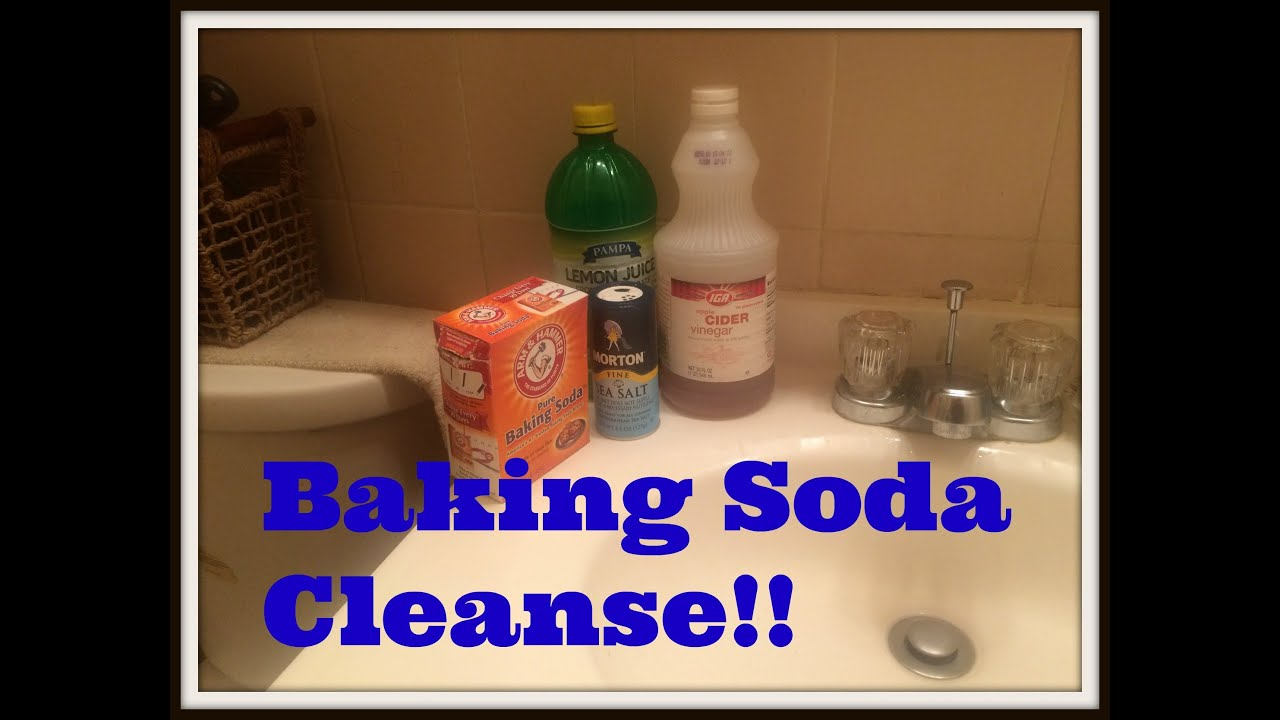 Baking Soda And Apple Cider Vinegar Cleanse| Mini Review