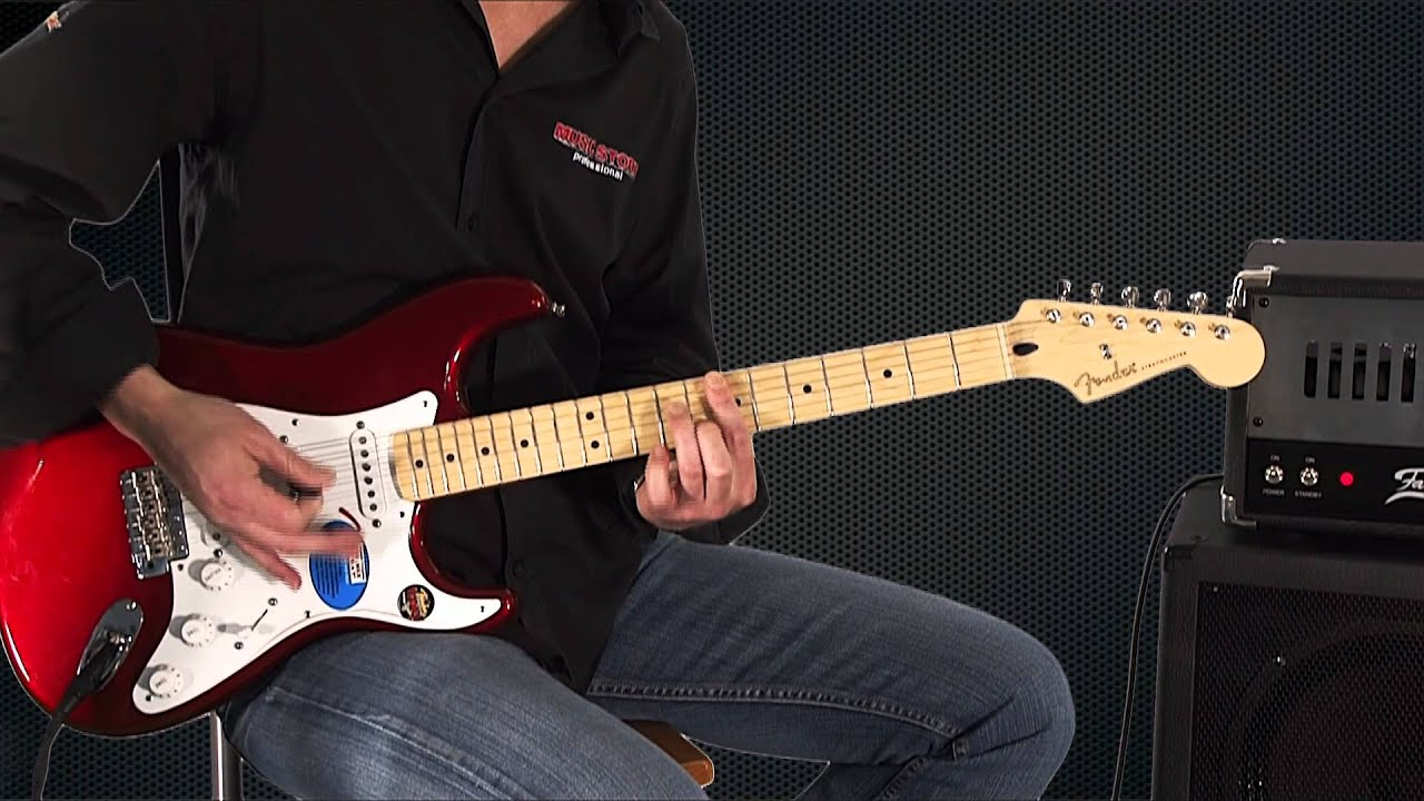 Fender Jimmie Vaughan Tex Mex U2122 Stratocaster    Strat