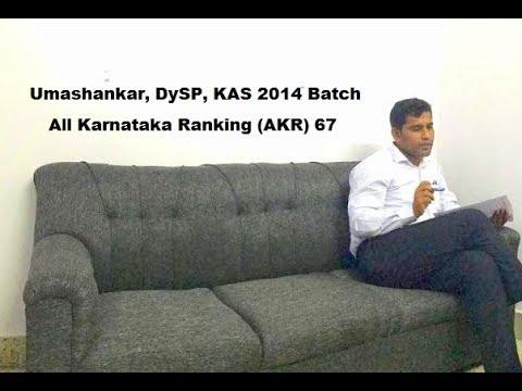 Umashankar, DySP, KAS 2014 Batch,  Winners Chat @ Minutes with INSPIRO (Kannada)
