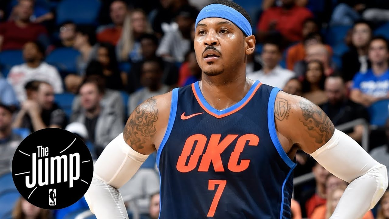 Should Carmelo Anthony come off the bench for Thunder ...