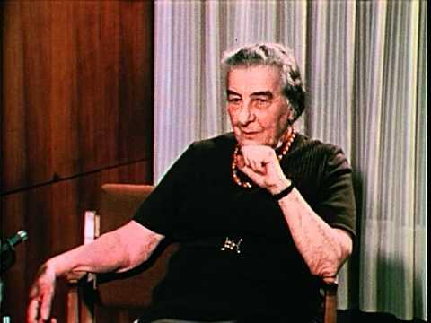 Golda Meir Interview