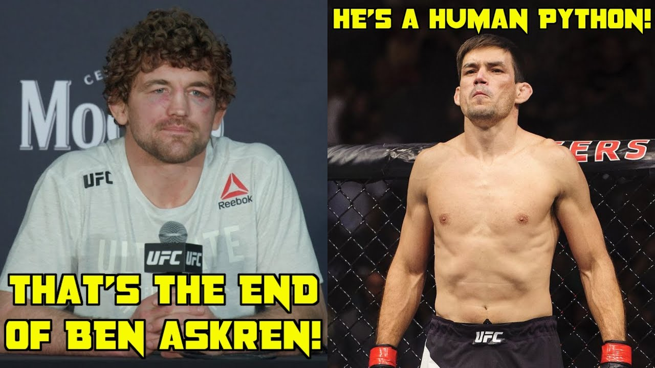 "Demian Maia vs Ben Askren, ""Th..."