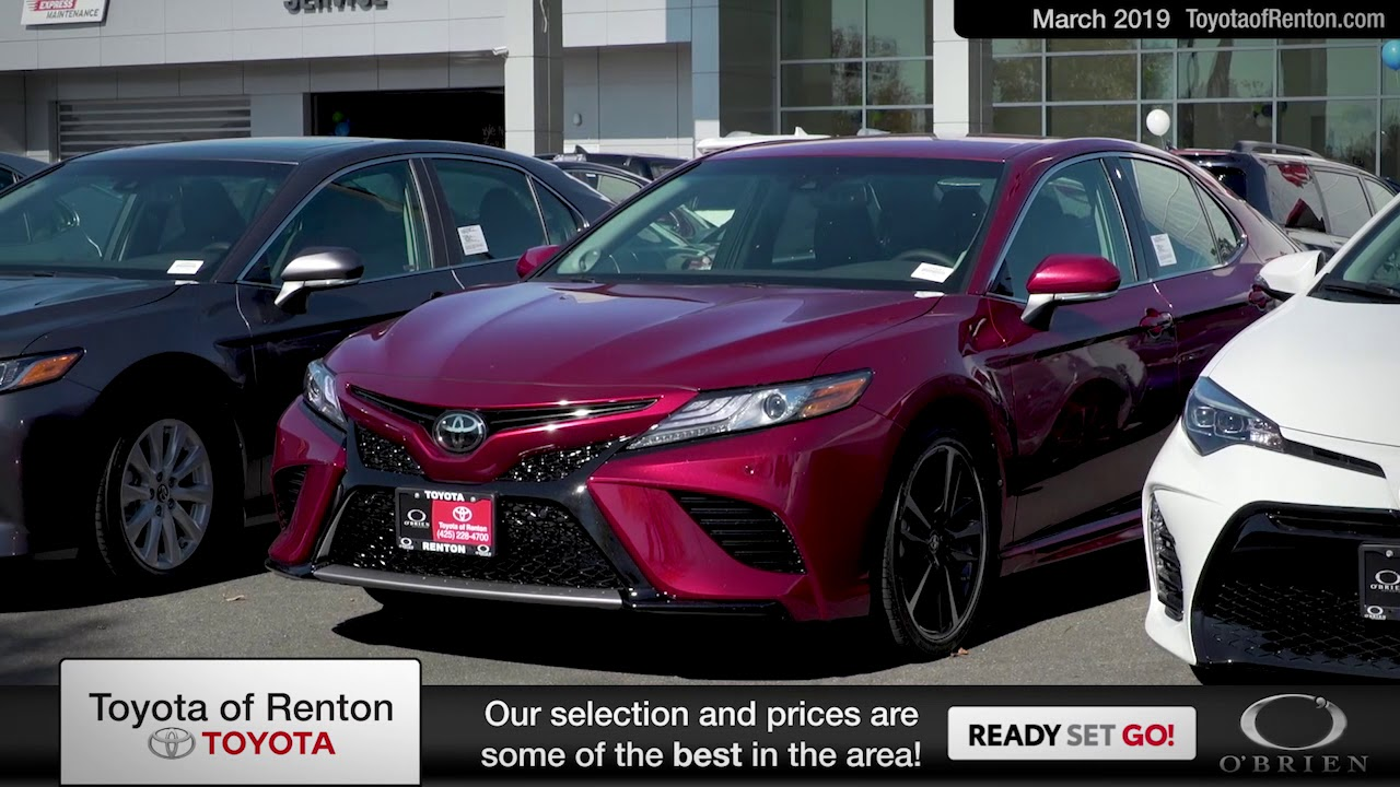 Toyota Of Renton >> Toyota Of Renton March Hlds Youtube