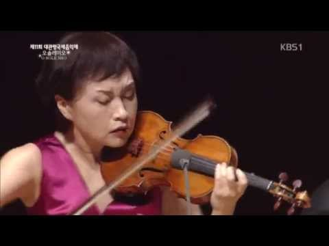 Kyung Wha Chung plays Schubert violin sonata No.4 'Duo'