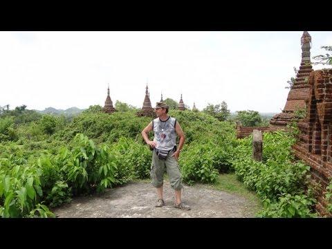 Myanmar ( Burma ) 2013, beautiful place Mrauk U, Rakhine State !