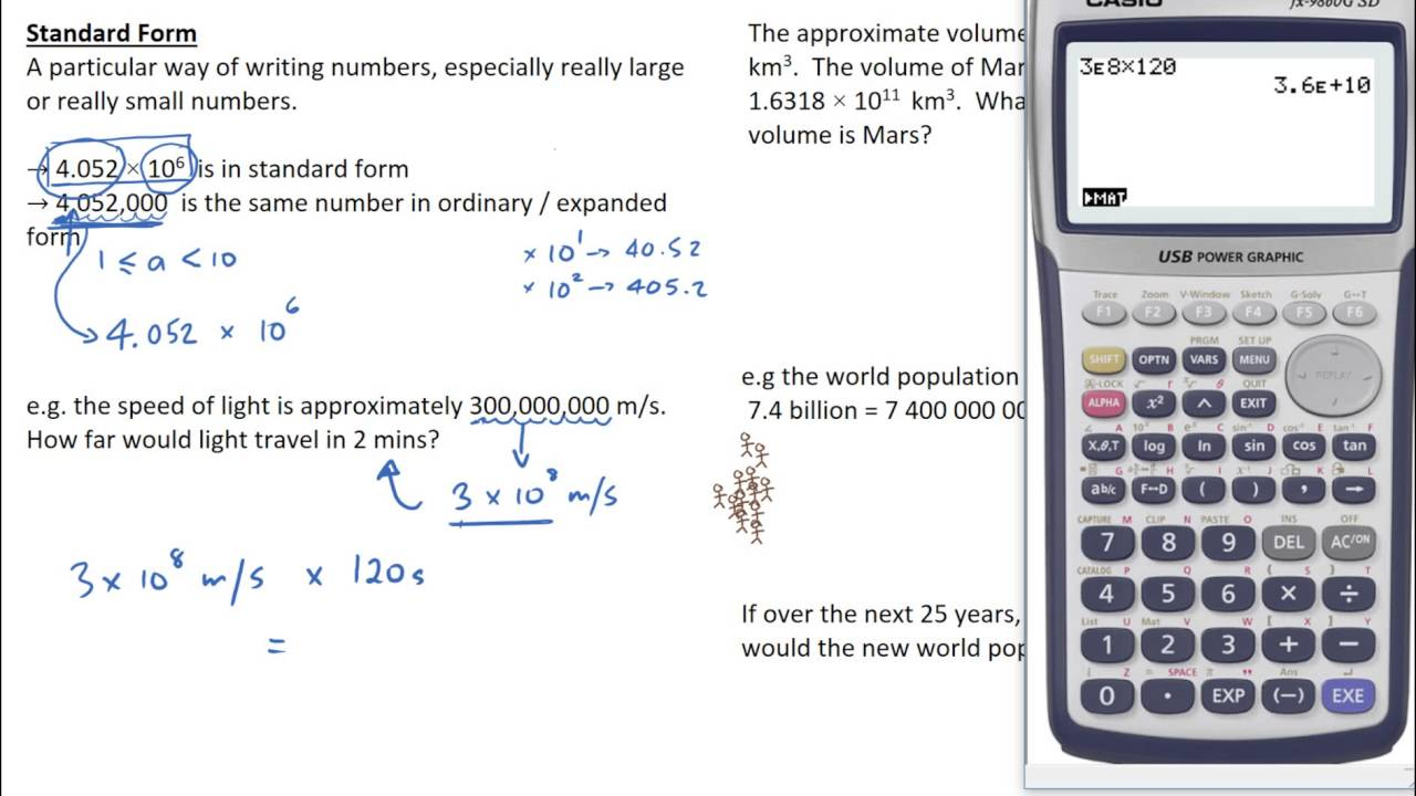 Standard form large numbers youtube standard form large numbers falaconquin