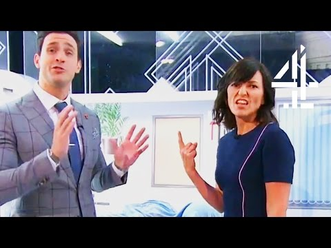 Davina Thoroughly Inspects A Robotic Rectum | Stand Up To Cancer