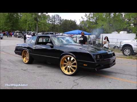 WhipAddict: Chevrolet Monte Carlo SS LSX on Gold Forgiato Inferno 24s, by In & Out Customs
