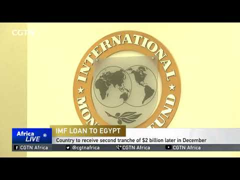 Egypt to receive second tranche of $2B in December