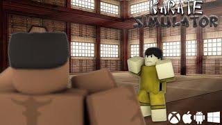 Roblox | LEARN The KARATE WARS With BRUCE-Karate Simulator | Yakira roblox
