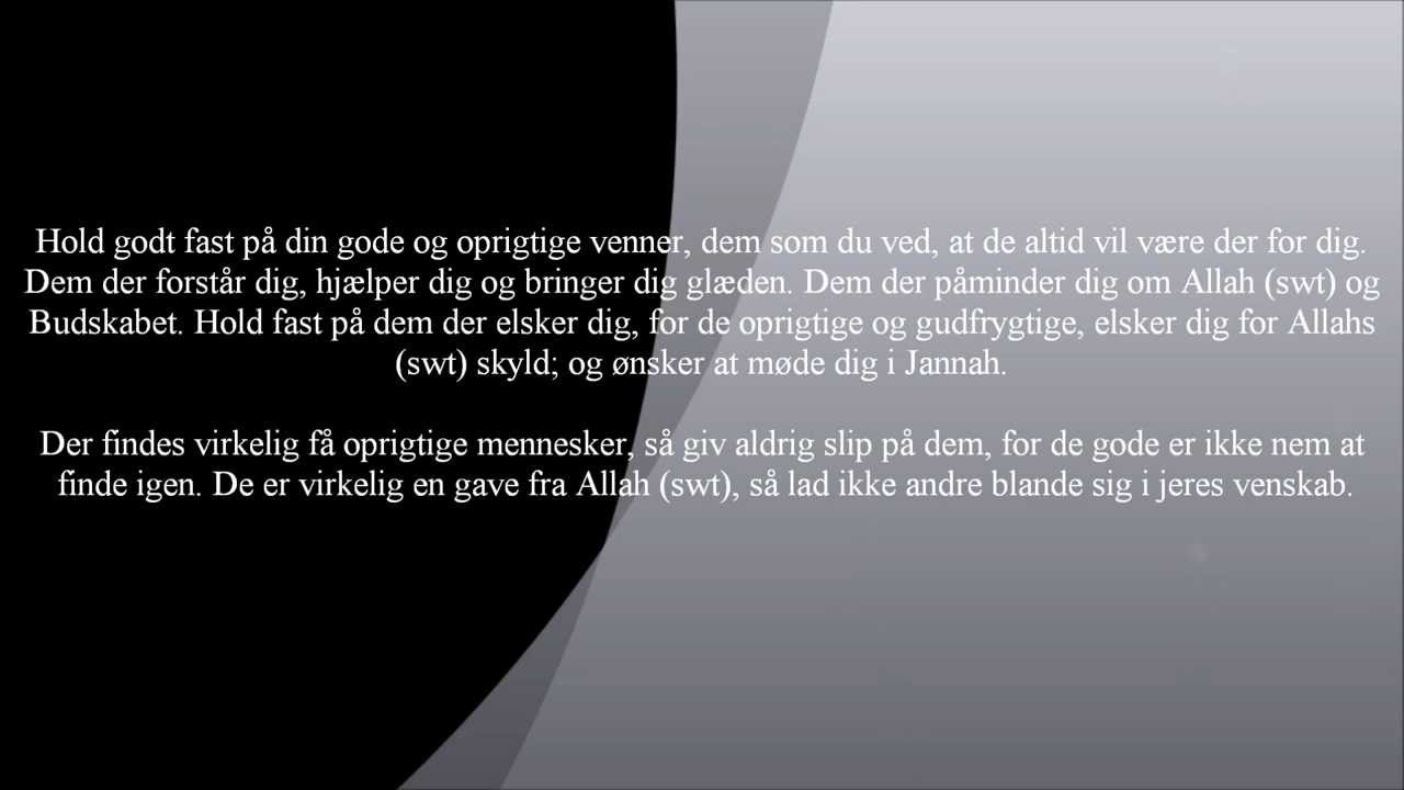 islam kærlighed