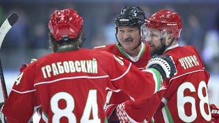 شاهد: الرئيس البيلاروسي يقول إن هوكي الجليد هو علاج فيروس كورونا …