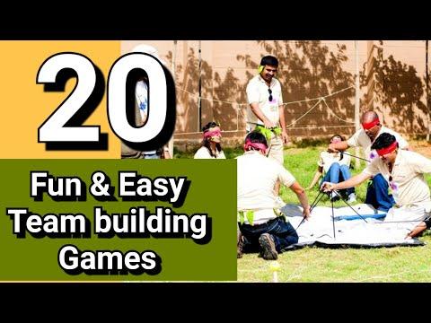 20 Fun & Easy Team Building Games New 2019