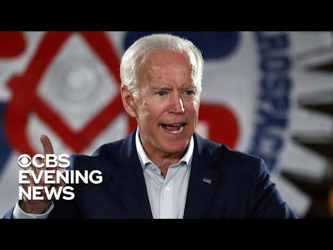 Joe Biden's verbal slip about 2020 draws cheers