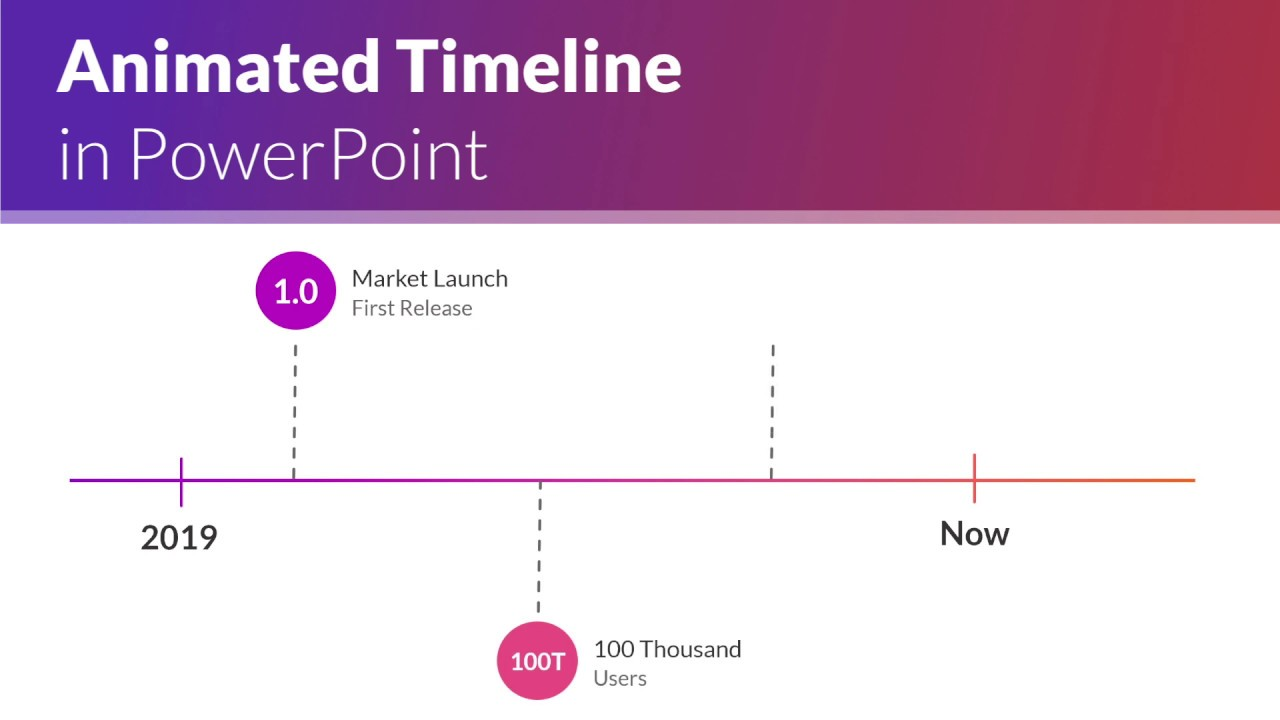 Powerpoint Timelines With Arrows Powerpoint 6