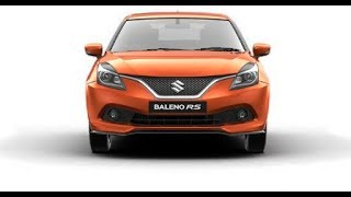 Baleno Rs Sports Full Review And Specifications In 2018 Or 2019