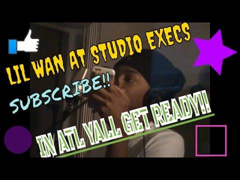 LIL WAN IN THE STREET EXECS STUDIO!! PART 3