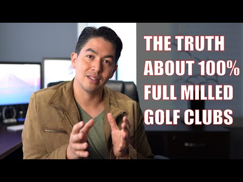 What Are Full Milled CNC Golf Clubs?