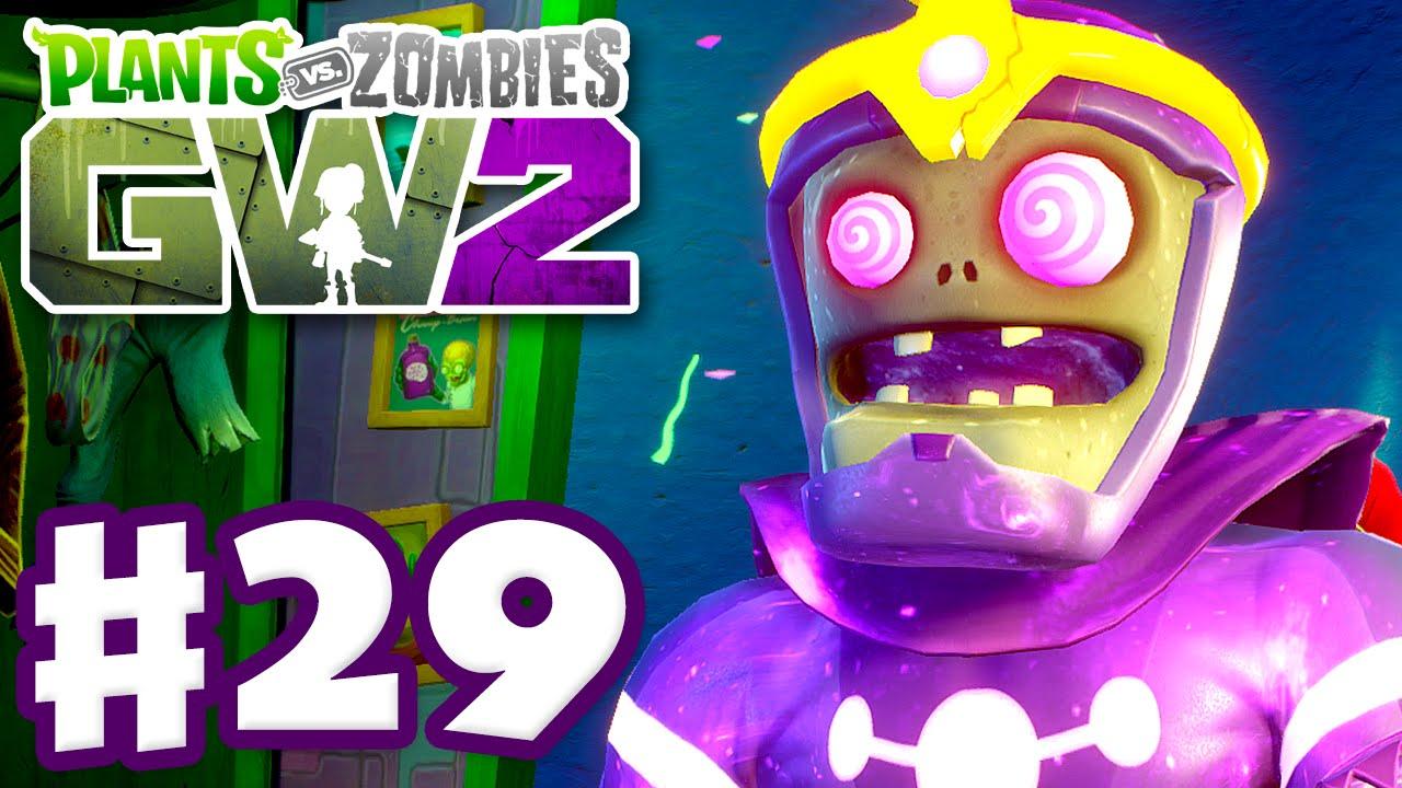Plants Vs Zombies Garden Warfare 2 Gameplay Part 29 Cosmic Brainz Pc Youtube