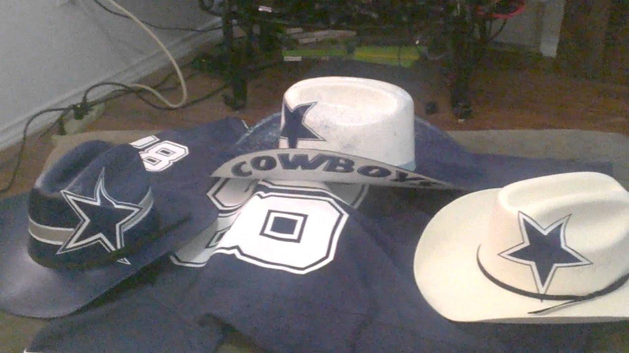 f7506a750bd319 JT_HATS DALLAS COWBOYS COWBOY HATS - YouTube