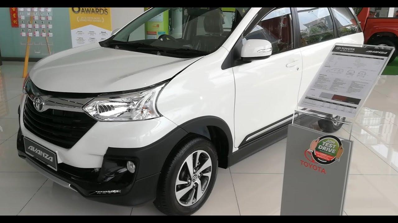 Grand New Avanza Black Limited Toyota 1 5x 2018 Youtube