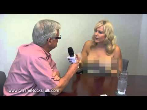Nude woman anchor tv