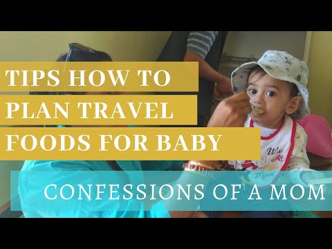 #Travel with infant Best #TIPS to plan #9monthsold baby food