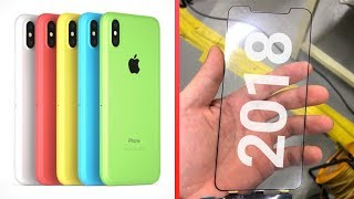 All 2018 iPhone Leaks & Rumors: 4 New Models!