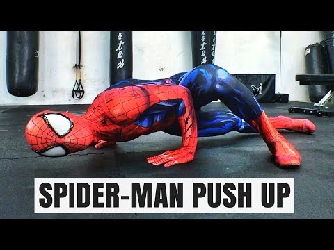 Spider-Man Push up Tutorial How To Properly Perform A Spider-Man Push Up