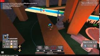Roblox Games: League of Roblox Beggining