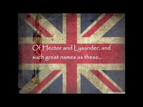 The British Grenadiers Song - Lyrics