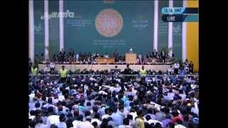 Abschlussansprache Jalsa Salana Deutschland 2012 von Hadhrat Mirza Masroor Ahmad (aba)