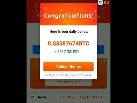 best way to get free bitcoin pivot app payment proof 2018
