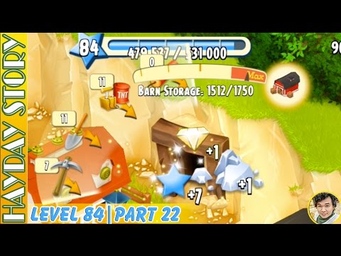 One Minute To Complete Mining Task in Hay Day Level 84 | Part 22
