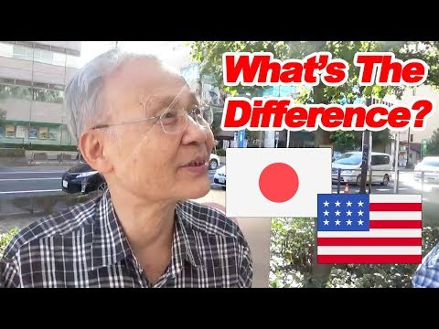 Japanese Thoughts on the Difference between Americans and Japanese