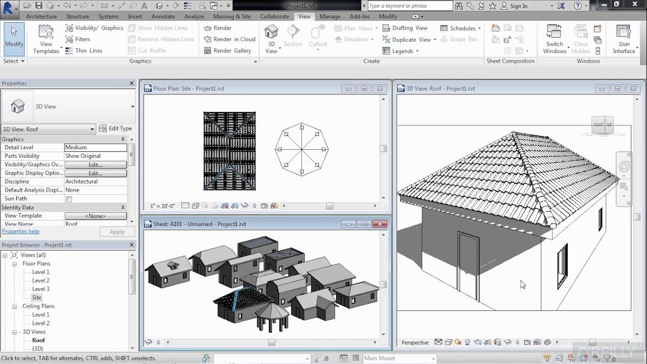 Revit Architecture Roof Design Tutorial What You Will Learn Youtube