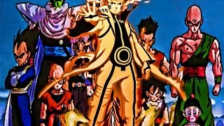 Naruto Vs The Dragon Ball Z Universe