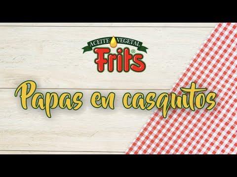 Receta Papas Al Casco con Aceite Frits