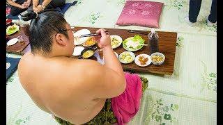 Почему сумоисты толстые? Сумо в Японии