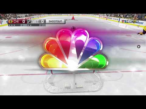 Amazing nhl 18 shootout win