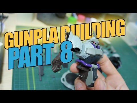 158 - Gunpla Building Part 8: Hand-Painting Details with Enamel Paint