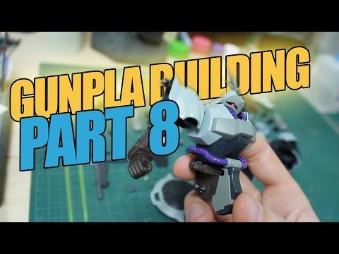 158 - Gunpla Building Part 8: Hand-Painting Details with Enamel Paint