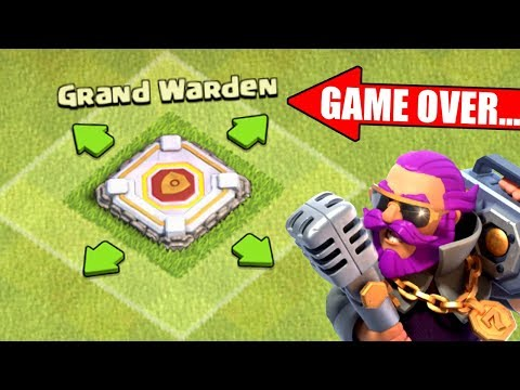 THE END OF THE GRAND WARDEN IN CLASH OF CLANS!