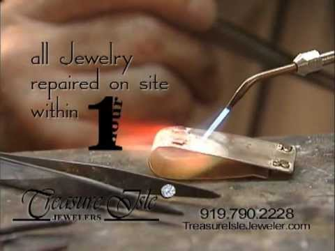 Jewelry Repair...While YOU watch!