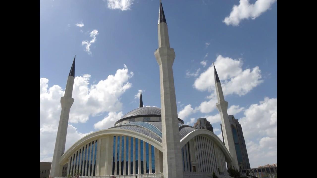 Ahmet Hamdi Akseki Mosque in Ankara Turkey (Diyanet Camii ...