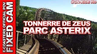 Tonnerre de Zeus - Parc Asterix | On-Ride (ECam HD)